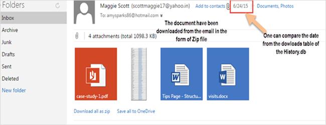 Hotmail Forensics
